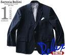 紺 ブレザー 大きいサイズ メンズ テーラードジャケット シングル 2ツ釦 ストレッチ azj32s20z95