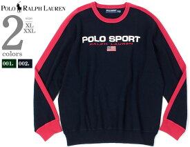 大きいサイズ メンズ POLO RALPH LAUREN ポロ ラルフローレン ロゴ刺繍 トレーナー USA直輸入 710761914