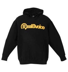 大きいサイズ メンズ RealBvoice 裏毛 プル パーカー ブラック 1278-0661-2 3L 4L 5L 6L
