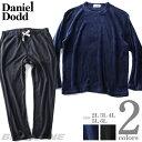 大きいサイズ メンズ DANIEL DODD ボア フリース 上下 セット 秋冬新作 azpj-190508