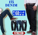 ジーンズ ジーパン 大きいサイズ メンズ ベーシック ストレッチ デニム パンツ DANIEL DODD azd-175