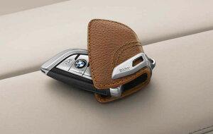 BMW 純正 レザー キーケース サドル ブラウン F15 F85 F16 F86 F45 F46 F48 G11 G12 G20 G30 G31 G01 G02 G05 G07 G29 専用 キーホルダー スマートキーケース キーカバー