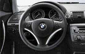 【店内全品300円オフクーポン】BMW 純正 E90 91 92 93 3シリーズ スポーツステアリング用カバー ブラック&クローム マルチファンクション付き用