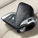 【BMW純正】BMW F15 F85 F16 F86 F45 F46 F48 G11 G12 G30 専用 レザー・キーケース ブラック