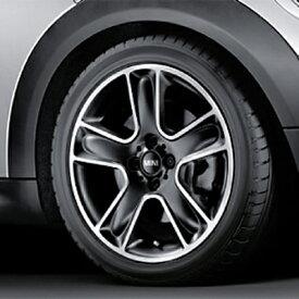BMW MINI アルミホイール 7×17 ET48 ブラック スター ブレット R111 ブラック