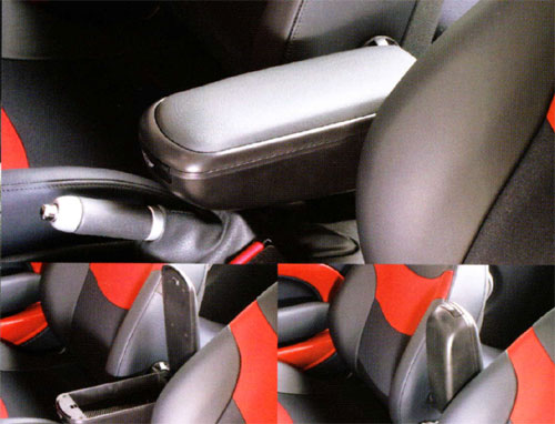 BMW MINI アクセサリー MINI R50.R53(ハッチバック)/R52(コンバーチブル)用 センター・アームレスト・セット