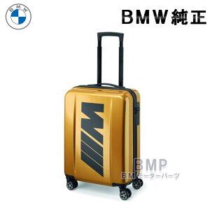 BMW 純正 M COLLECTION M スーツ ケース ゴールド キャリーバッグ 46L コレクション