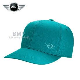 BMW MINI 純正 MINI COLLECTION ロゴ キャップ アクア ユニセックス コレクション