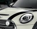 【店内全品100円オフクーポン】BMW MINI F56 F55 F57 3 DOOR 5 DOOR Convertible 用 ヘッド ライト リング ブラック …
