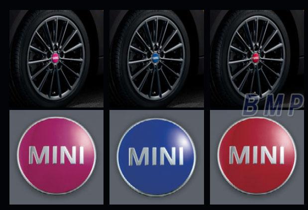 【BMW MINI純正】BMW MINI F56 F55 F54(3 DOOR/5 DOOR/CLUBMAN)用 カラード・センター・キャップ セット