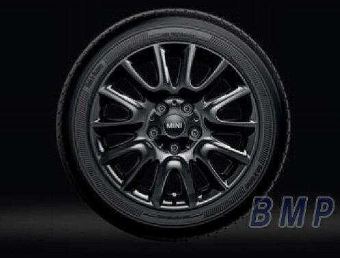 【BMW MINI 純正】 MINI アルミホイール ビクトリー・スポーク495(ブラック) 6.5J×16 アロイ・ホイール 単体 1本