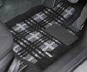 """【BMW MINI 純正】【送料無料】MINI F55(5 DOOR)用 フロアマット・セット """"シャギー・クラシカル・モダン(ブラック/…"""