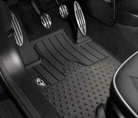 BMW MINI 純正 フロアマット MINI R56 ハッチバック R55 CLUBMAN R58 Coupe R59 Roadster ラバーマット フロント用 MINIロゴ