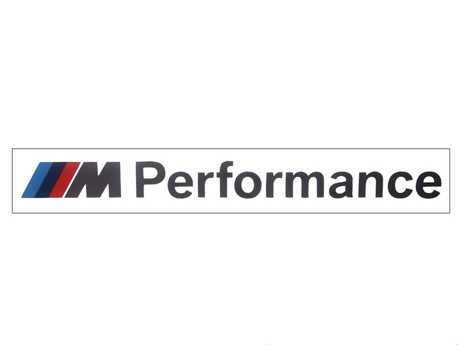 【BMW純正】BMW M Performance ステッカー エンブレム【あす楽】