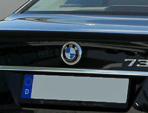【BMW純正】E65/66後期 7シリーズ用 トランク・エンブレム