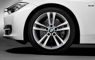 BMW纯正aroi·轮罩BMW 3系列BMW F30 F31双打猪肉·流行397前台/后部8J*18