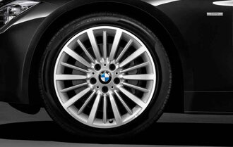 3 BMW pure alloy wheel BMW New series BMW F30 F31 multi-spoke styling 416 front / rear 8J *18