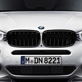 BMW 純正 F15 F16 X5 X6 M Performance ブラック キドニー グリル セット パフォーマンス