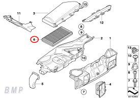 【店内全品200円offクーポン】BMW 純正 E60 E61 エアコン フィルター