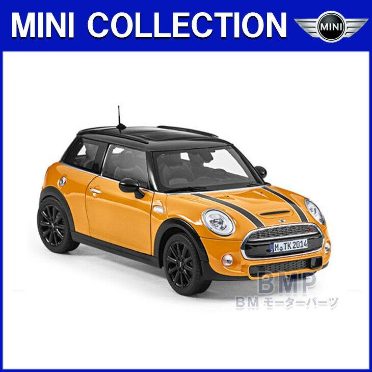 【BMW純正】MINI COLLECTION MINI Cooper S 3 Doorミニチュアカー ボルカニック・オレンジ 1/18 スケール