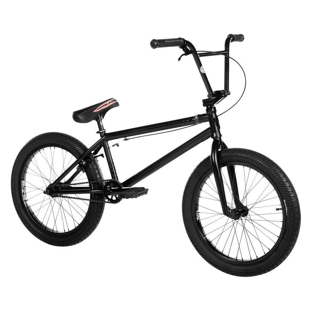 "2019 SUBROSA - SALVADOR XL 21.0""/ satin black on black / サブローザ サルバドールXL BMX 完成車 ストリート 大きめサイズ"