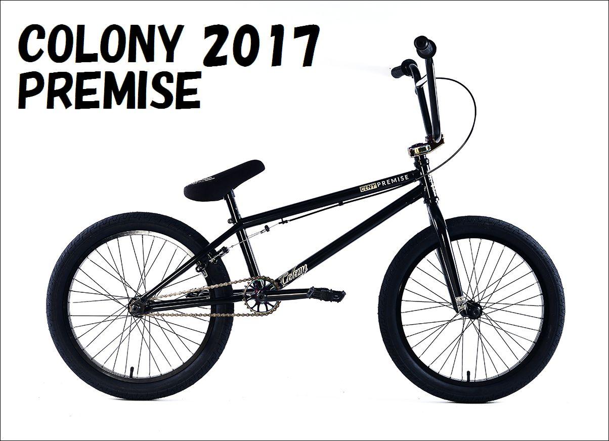 """【送料無料中!】2017 COLONY - PREMISE 20.75"""" BLACK/RAINBOW / コロニー BMX ストリート 完成車 自転車"""