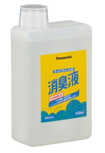 【パナソニック】ポータブルトイレ用消臭液(無色タイプ) 1000mL【悪臭】【洗浄】【臭い】【におい】【ニオイ】