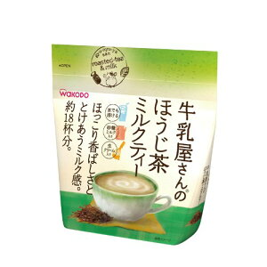 牛乳屋さんのほうじ茶ミルクティー 200g