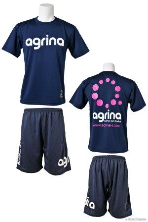 アグリナ/agrina_ag-0003--0008_グランデプラクティスシャツ上下セット〜フットサルウェア