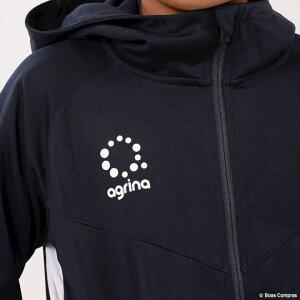 アグリナ/agrina_ジュニアジャージセットアップ_ジュニアデセアルトレーニングジャージフードジャケット上下セット