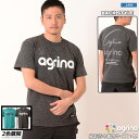 アグリナ スポーツシャツ [ag-0435 ビアクルーバコットンTシャツ] agrina フットサル ウェア Tシャツ デイユース 普段使い agrina カジ…