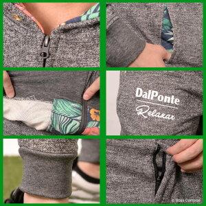 ダウポンチ/dalponte_dpz-rx68--69_ジップフードスウェット上下セット〜フットサルウェア