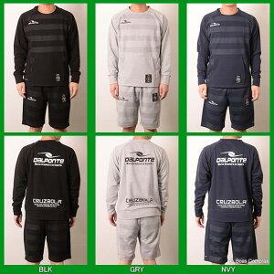 ダウポンチ/dalponte_dpz-0256--0258_トレーニングスウェットクルーネックシャツ上下セット〜フットサルウェア