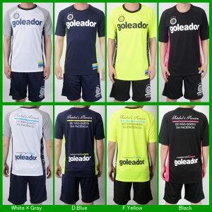 ゴレアドール/goleador_g-1842_サイドメッセージプラシャツ〜フットサルウェア