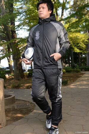 ゴレアドール/goleador_中綿ピステフードジャケット&テーパードパンツ上下セット〜フットサルウェア