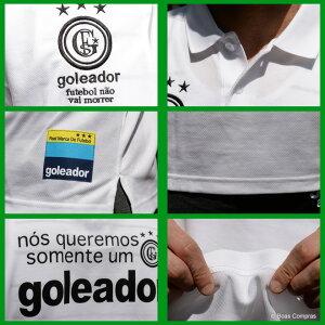 ゴレアドール/goleador_g-2001_ダブルフェイス綿&ポリワンポイント刺繍ポロシャツ〜フットサルウェア