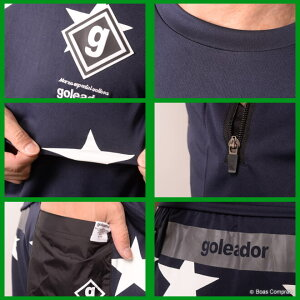 ゴレアドール/goleador_f-039--040_スタープラシャツ上下セット〜フットサルウェア