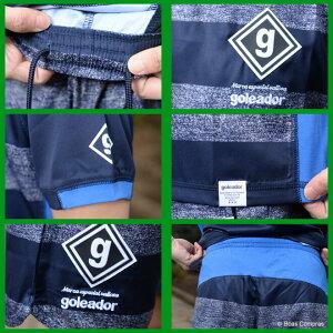 ゴレアドール/goleador_f-069--070_ノイズボーダープラシャツ上下セット〜フットサルウェア