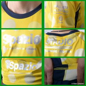 スパッツィオ/spazio_ge-0357_ドット8プラクティスシャツ〜フットサルウェア