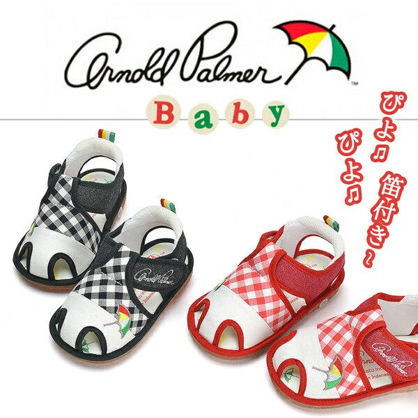 《 2足選べる福袋 / キッズ / 対象商品 》[クリアランス]『ベビー スニーカー 』靴・キッズ・子供・女の子・男の子・レッド・ブラック・天然繊維・マジックテープ・アーノルドパーマー・ Arnold Palmer・靴・ベビー・スニーカー