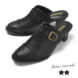 [2019春新作]『 ボブソン レディース靴 』婦人靴 トラッドミュール ビジネス BOBSON ボブソン レディース