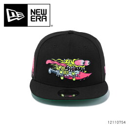 ニューエラ【NEW ERA】 12110754 950 SANTA CRUZ SLASHER サンタクルーズ 9FIFTY 帽子 キャップ CAP スナップバック フリーサイズ サイズ調整可能 ブラック メンズ レディース【あす楽】