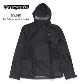 パタゴニア【patagonia】メンズ・トレントシェル3L・ジャケット Men's Torrentshell 3L Jacket 85240 メンズ アウター トレントシェル ジャケット レギュラーフィット 防寒 雨具 レインコート 登山 フード【あす楽】【送料無料】