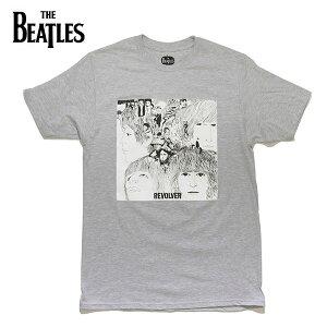 ザ・ビートルズ 【The Beatles】THE BEATLES REVOLVER TEE GREY リボルバー ロックバンド Tシャツ ロックT バンドT ロゴT 正規品 本物 メンズ レディース【ネコポス発送】