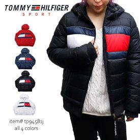 トミーヒルフィガー【TOMMY HILFIGER】中綿ジャケット アウター ナイロン フルジップ レディース TP94581J USA規格【あす楽】【送料無料】