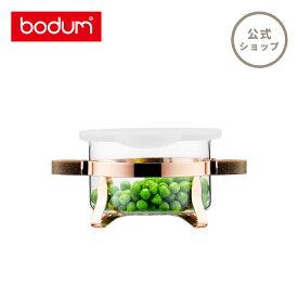 【公式】 BODUM ボダム CHAMBORD SET シャンボールセット シリコンリッド ポリプロピレン + バンブー ハンドル 付き 耐熱ボウルセット 250ml K4915-143