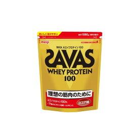 ザバス ホエイプロテイン100 / 1050g / ココア味
