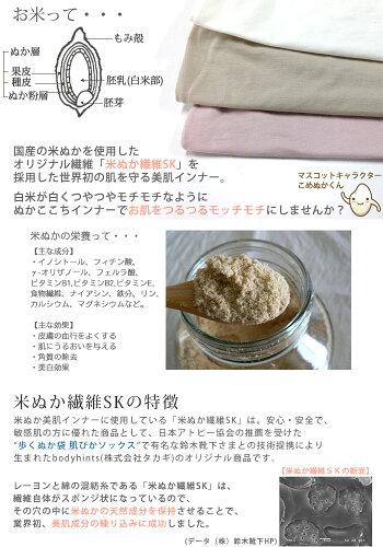 米ぬか繊維の保湿美肌