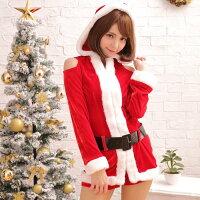ナイトハニーサンタコスチュームサンタクローストナカイコスプレコスプレ衣装クリスマスイブコスチュームハロウィン衣装クリスマスツリーXmasイベントパーティー