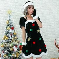 2019xmasツリーサンタコスプレイベントコスチュームクリスマスサンタサンタクロースコスチュームクリスマスツリーハロウィンコスプレ